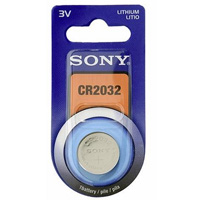 Sony Lithium Coin Battery Size CR2032