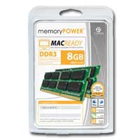 Centon 8GB DDR3-1333 (PC3-10600) CL9 SO-DIMM Dual Channel Laptop Memory Kit (Two 4GB Apple Memory Modules)