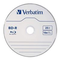 Verbatim BD-R 6x 25GB 10 Pack Spindle