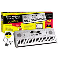 eMedia Piano for Dummies 61-Key Keyboard Starter Pack (PC / MAC)
