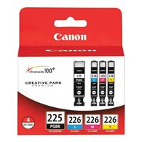 Canon PGI-225 BK, CLI-226 C/M/Y Value Pack