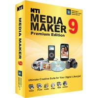 NewTech Infosystems NTI Media Maker 9 Premium Edition (PC)