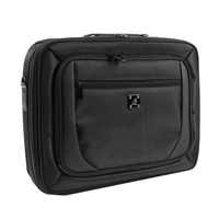 "Inland Notebook Briefcase for Laptops 15.6"" Black"