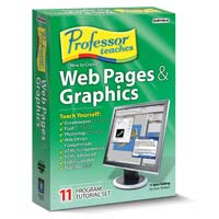 Individual Software Professor Teaches How To Create Web Pages & Graphics (PC)