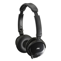 JVC Noise Canceling Headphones Black