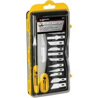 Performance Tools 17 Piece Hobby Knife Set