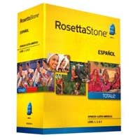 Rosetta Stone V4 TOTALe: Spanish (Latin America) Level 1-3 Set (PC / MAC)
