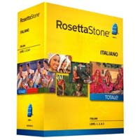 Rosetta Stone Rosetta Stone V4 TOTALe: Italian Level 1-3 Set (PC / MAC)