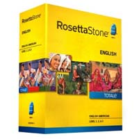 Rosetta Stone Rosetta Stone V4 TOTALe: English American Level 1-3 (PC / MAC)