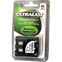 Ultralast Replacement Battery for Motorola FRS Two-Way NiMH Radio