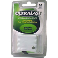 Ultralast Replacement Battery for Midland FRS Two-Way NiMH Radio