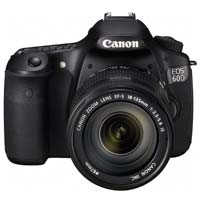 Canon EOS 60D 18 Megapixel Digital SLR Camera Kit with 18-135IS Lens - Black