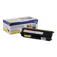 Brother TN315Y Yellow High Yield Toner Cartridge