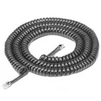 RCA Phone Handset Coil Cord 25ft. Black