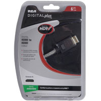 Audiovox Electronics DH6HHR 6' HDMI Cable
