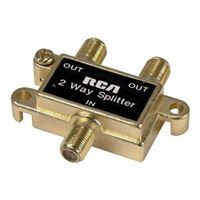 RCA Signal 2-way splitter 5-900 MHz
