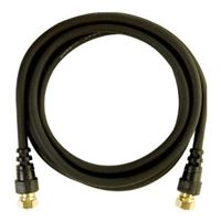 Audiovox Electronics 6 ft. RG6 Coax Cable - Black