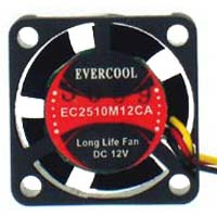Evercool 25mm Case Fan