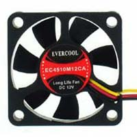 Evercool 45mm Thin Case Fan