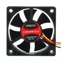 Evercool 60mm Case Fan EC6020M12CA