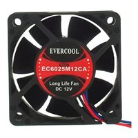 Evercool 60mm Case Fan EC6025M12CA