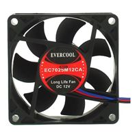 Evercool 70mm Case Fan