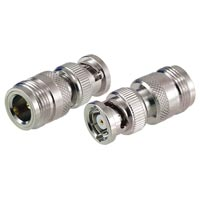 Vanco N-Type Female to Reverse Polarity BNC Plug Coaxial Adapter