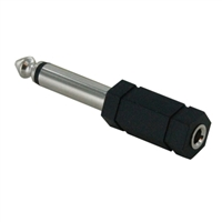 "Vanco 1/4"" Mono to 3.5mm Mono Adapter"