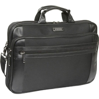 "Kenneth Cole ""Don't Sell Yourself Port"" Top Loading Notebook Case Fits LCD Screen up to 18.4"" Black"