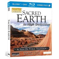 TOPICS Entertainment Sacred Earth - w/ Bonus DVD (Blu-Ray)