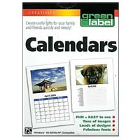 PC Treasures Green Label Calendars