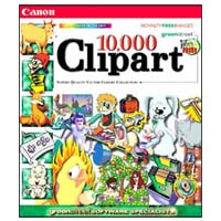PC Treasures 10,000 Clip Art Images (PC)