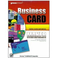 PC Treasures Greenstreet Business Card Maker - OEM (PC)