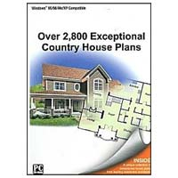 PC Treasures IMSI 2800 Exceptional Country House Plans JC (PC)