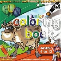 PC Treasures Junior Coloring Book - OEM (PC)