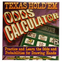 PC Treasures Texas Hold'Em Odds Calculator JC (PC)