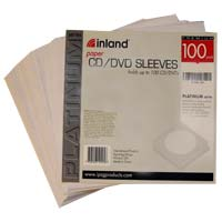 Inland Paper Sleeves 100 Pack