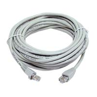 Inland Cat 5e Cables 3 ft Gray 5 Pack