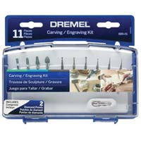 Dremel Carving Engraving Kit 11 Piece