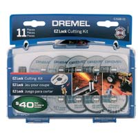 Dremel EZ Lock Cutting Kit 11Piece