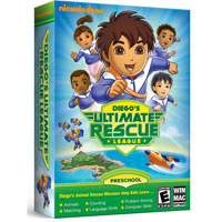Nova Development Go, Diego, Go! Ultimate Rescue League (PC / MAC)