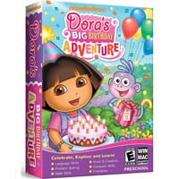 Nova Development Dora's Big Birthday Adventure (PC / MAC)