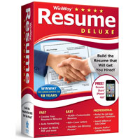 Nova Development WinWay Resume Deluxe v14 (PC)