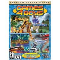 MumboJumbo Games 4 Boys (PC)