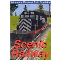 Abacus Software Scenic Railway Add-On For Microsoft Train Sim (PC)