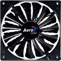 Aerocool Shark Black Edition 140mm Case Fan