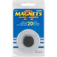 Master Magnetics Holding Magnet w/ Knob Handle 20 lbs. Pull