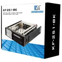 "Kingwin 2.5"" SATA Hot-Swap Rack with Keylock"