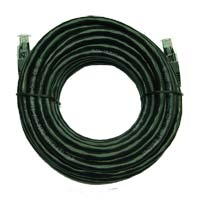 Inland Cat 6 Cables 25 ft Black 5 Pack