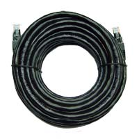 Inland Cat 6 Cable 50 ft Black